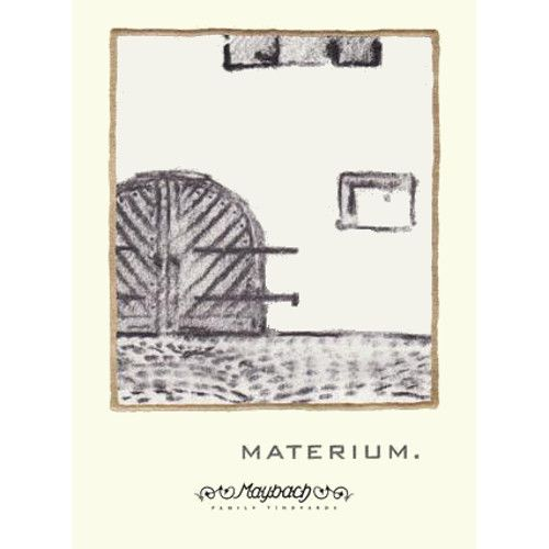 Maybach Family Vineyards Materium 2010 Front Label