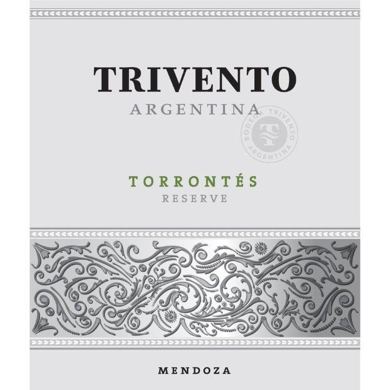Trivento Torrontes Reserve 2012 Front Label