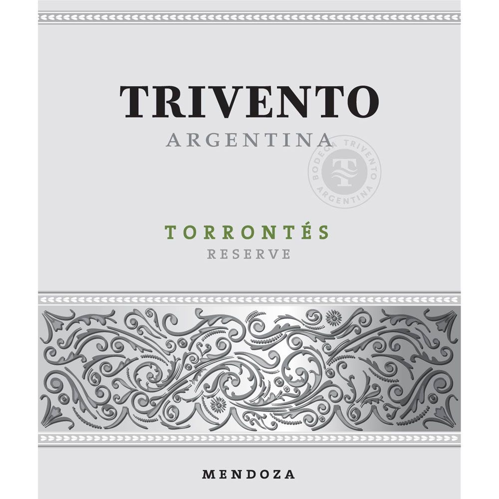 Trivento Torrontes Reserve 2013 Front Label