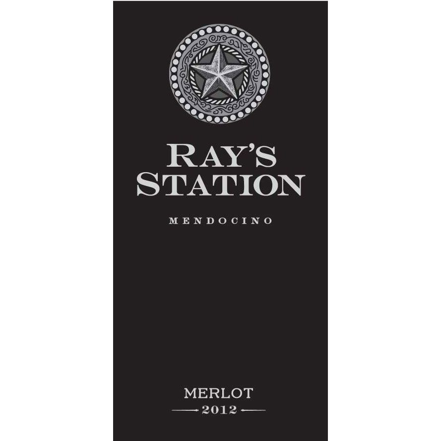Ray's Station Merlot 2012 Front Label