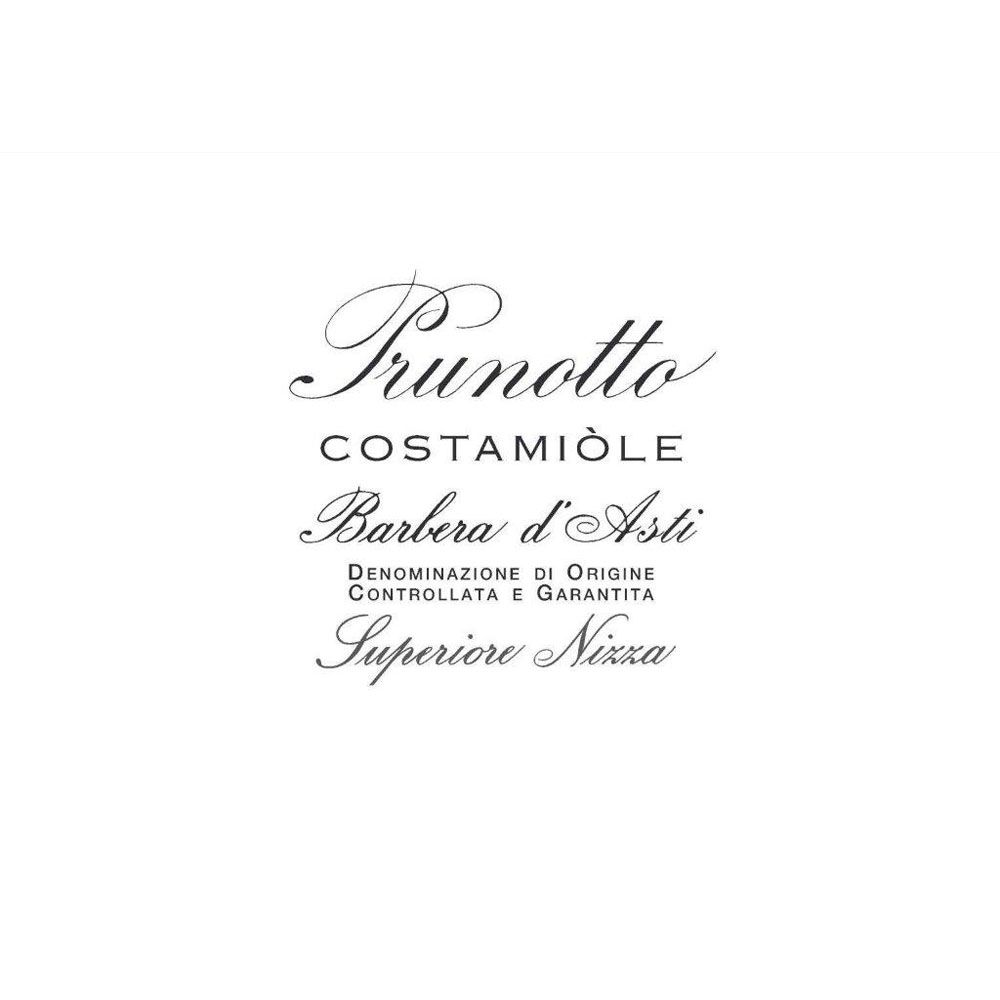 Prunotto Costamiole Barbera d'Asti 2009 Front Label