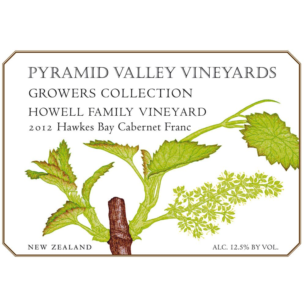 Pyramid Valley Howell Cabernet Franc 2011 Front Label