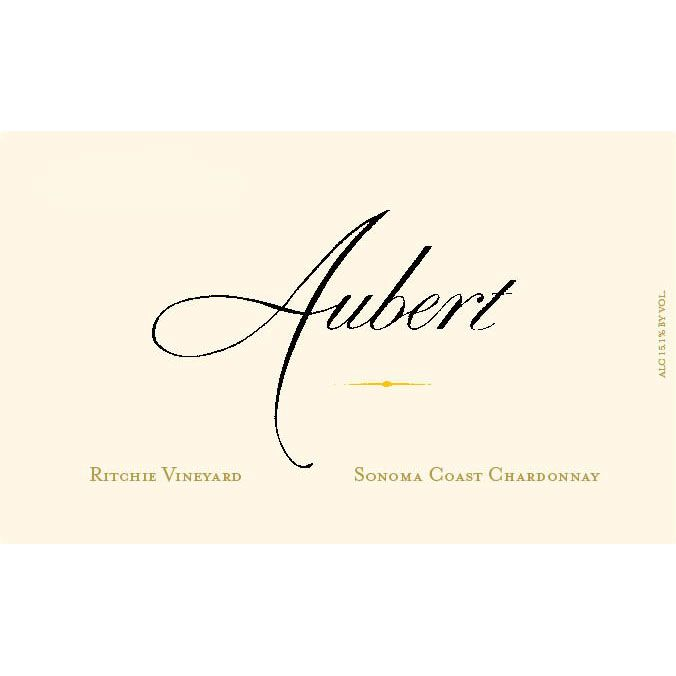 Aubert Ritchie Vineyard Chardonnay 2013 Front Label