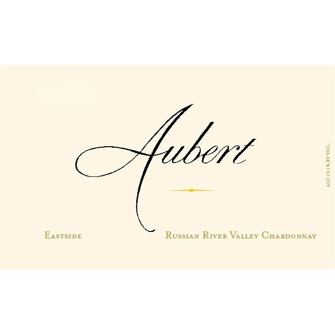 Aubert Eastside Russian River Chardonnay 2013 Front Label
