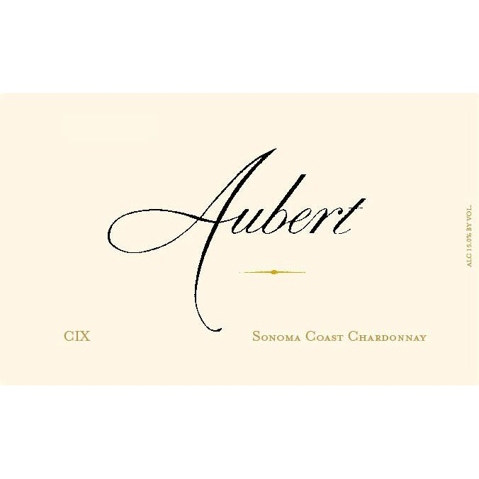 Aubert CIX Vineyard Chardonnay 2013 Front Label