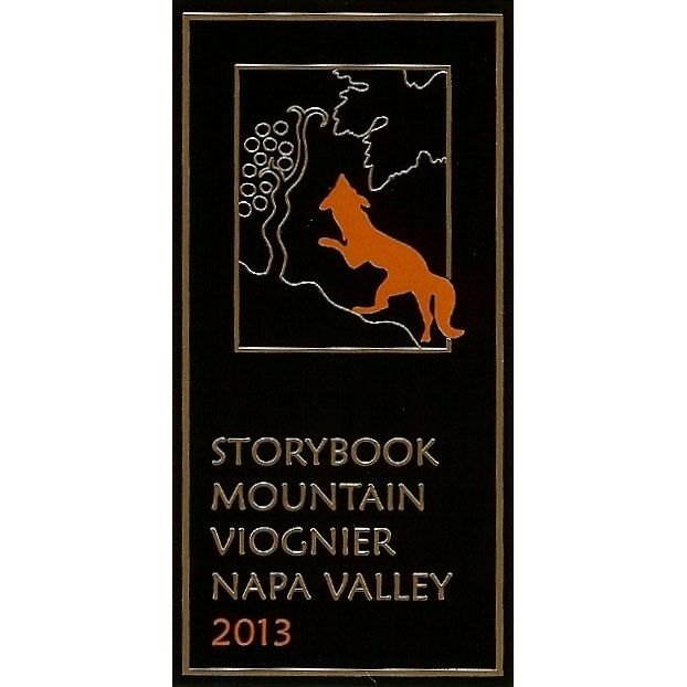 Storybook Mountain Estate Viognier 2013 Front Label