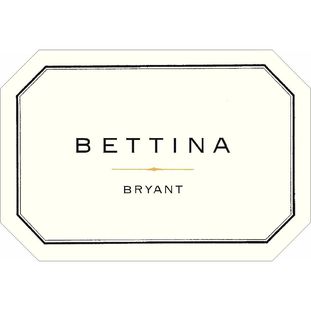 Bryant Family Bettina Proprietary Red 2012 Front Label
