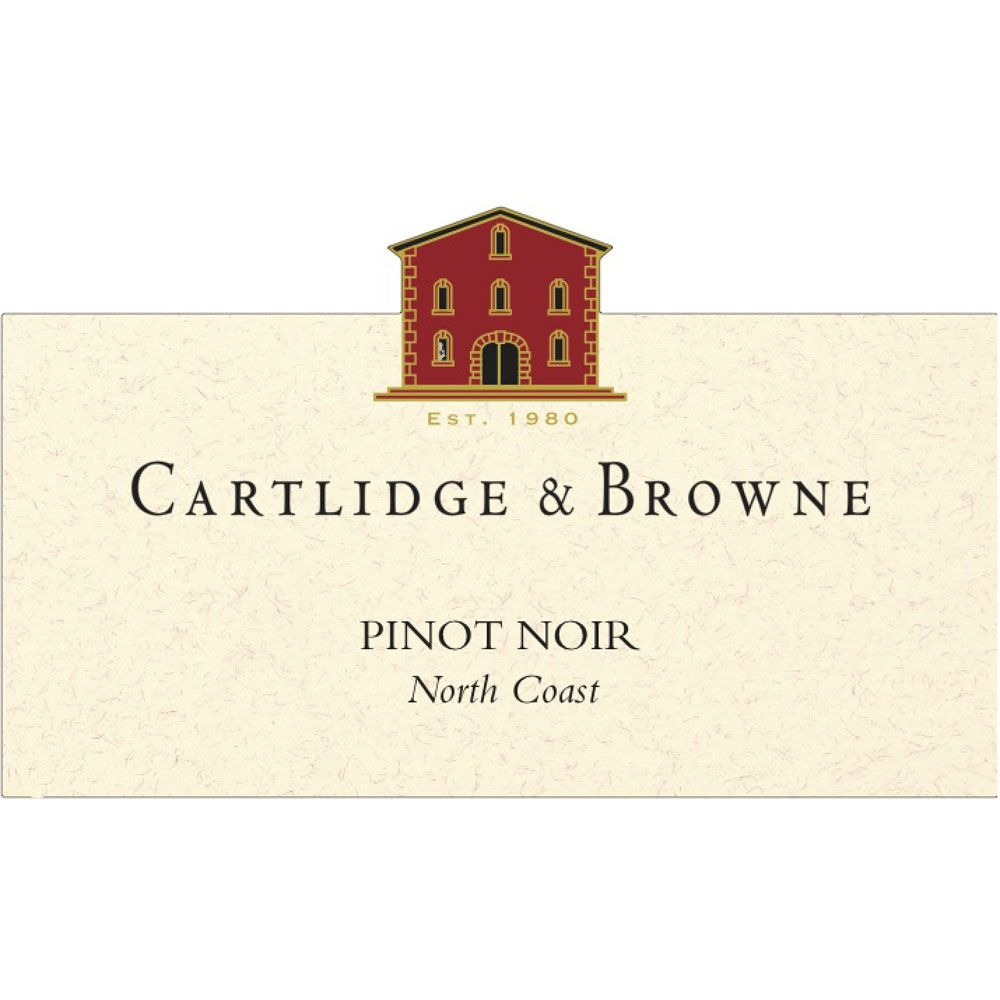 Cartlidge & Browne Pinot Noir 2012 Front Label