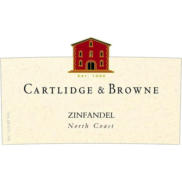 Cartlidge & Browne Zinfandel 2011 Front Label