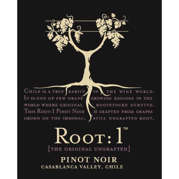 Root 1 Pinot Noir 2012 Front Label