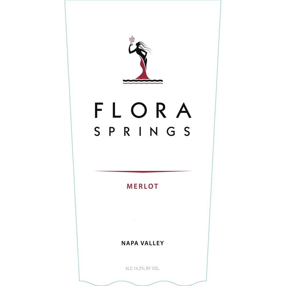 Flora Springs Napa Valley Merlot 2013 Front Label