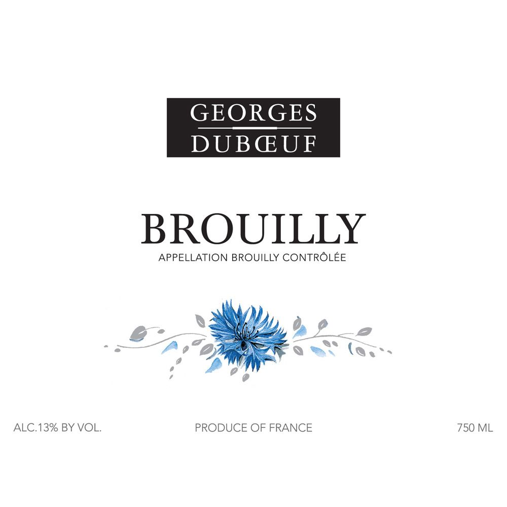 Duboeuf Brouilly 2012 Front Label