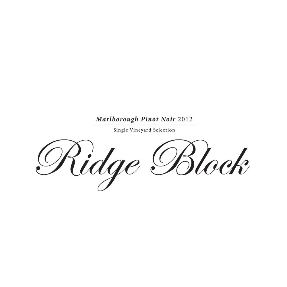 Giesen Ridge Block Single Vineyard Pinot Noir 2012 Front Label