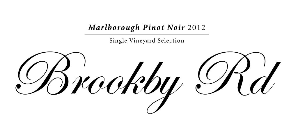 Giesen Brookby Road Single Vineyard Pinot Noir 2012 Front Label