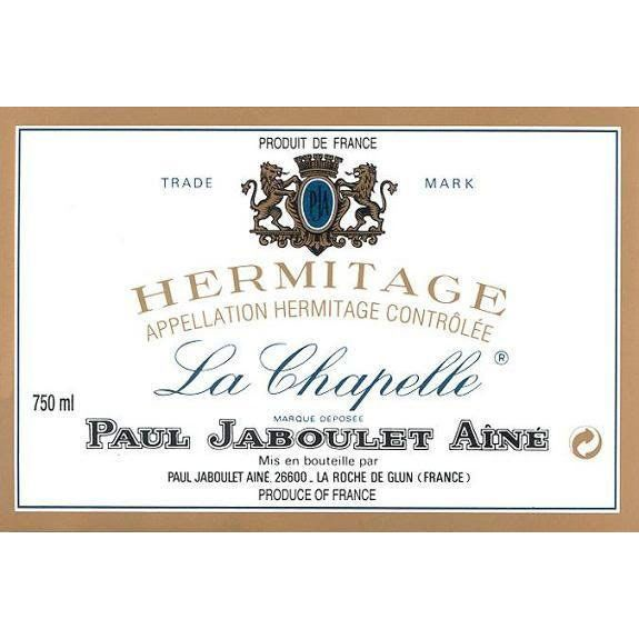 Jaboulet Hermitage La Chapelle (3 Liter Bottle) 1990 Front Label