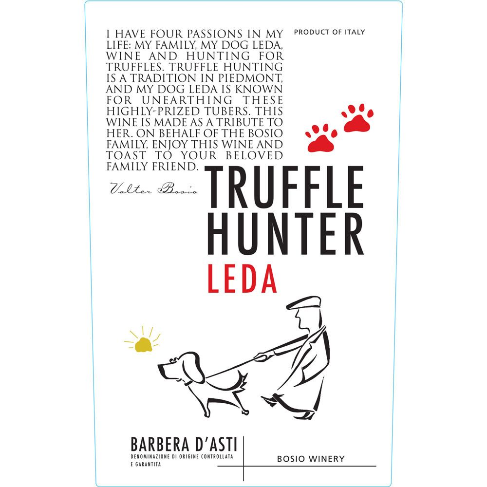 Truffle Hunter Barbera d'Asti 2013 Front Label