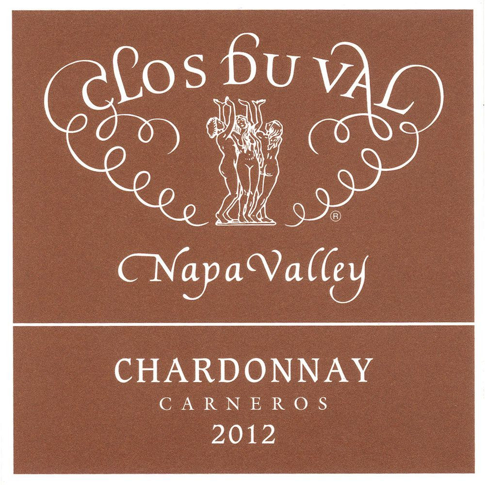 Clos Du Val Carneros Chardonnay (375ML half-bottle) 2012 Front Label
