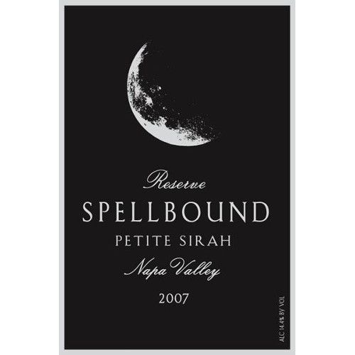 Spellbound Reserve Petite Sirah 2007 Front Label