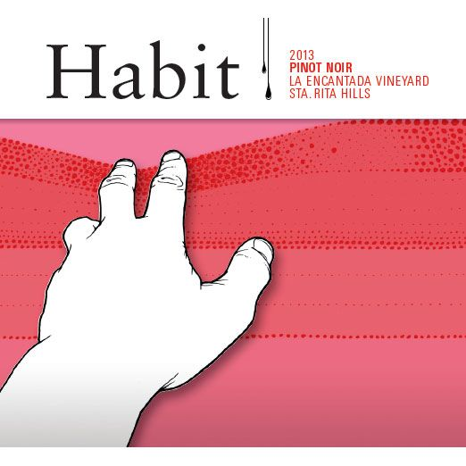 Habit Pinot Noir 2013 Front Label