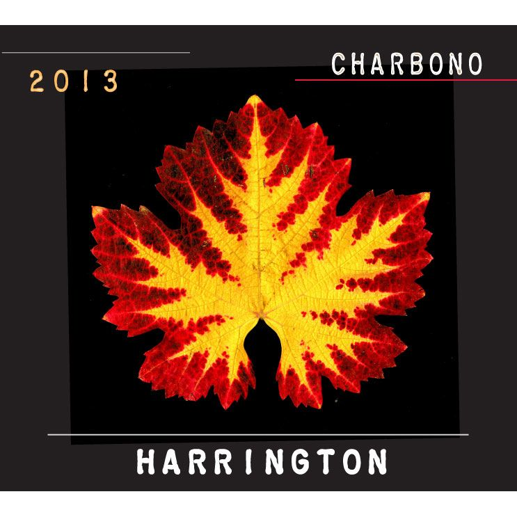 Harrington Fratelli Vineyard Charbono 2013 Front Label