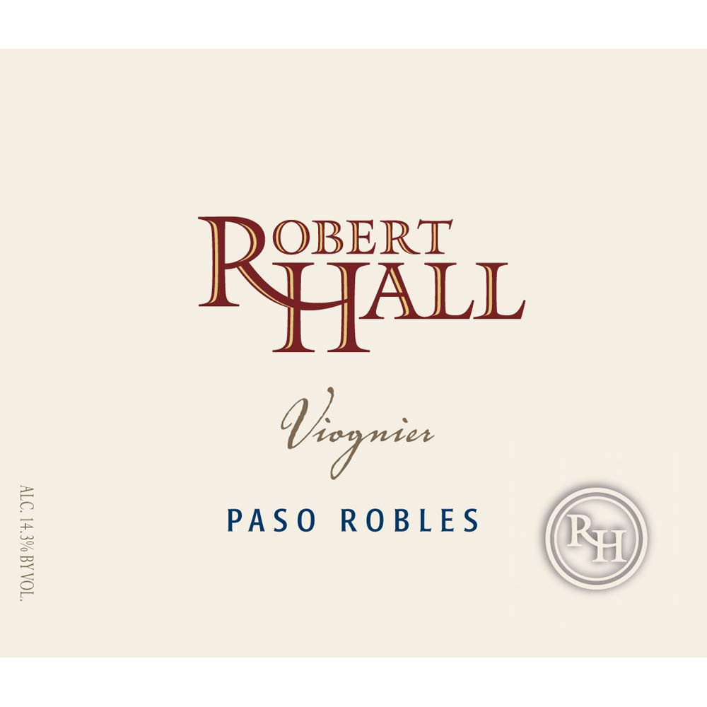 Robert Hall Viognier 2014 Front Label