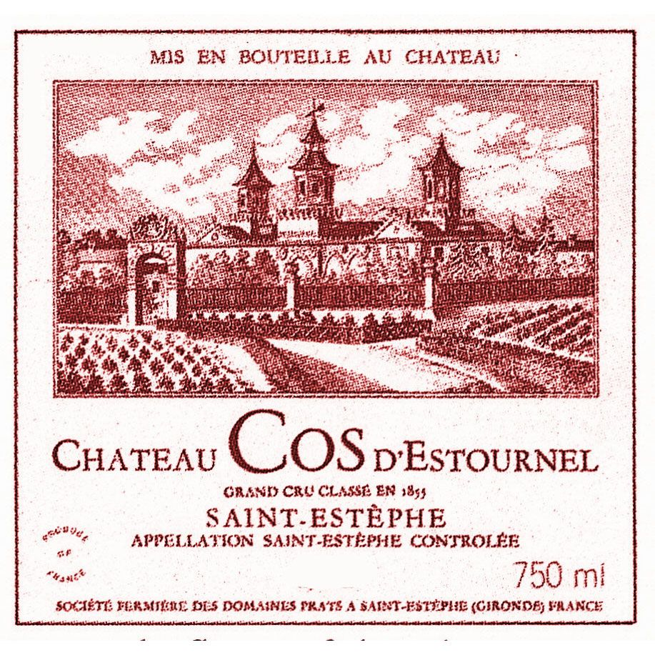 Chateau Cos d'Estournel  1982 Front Label