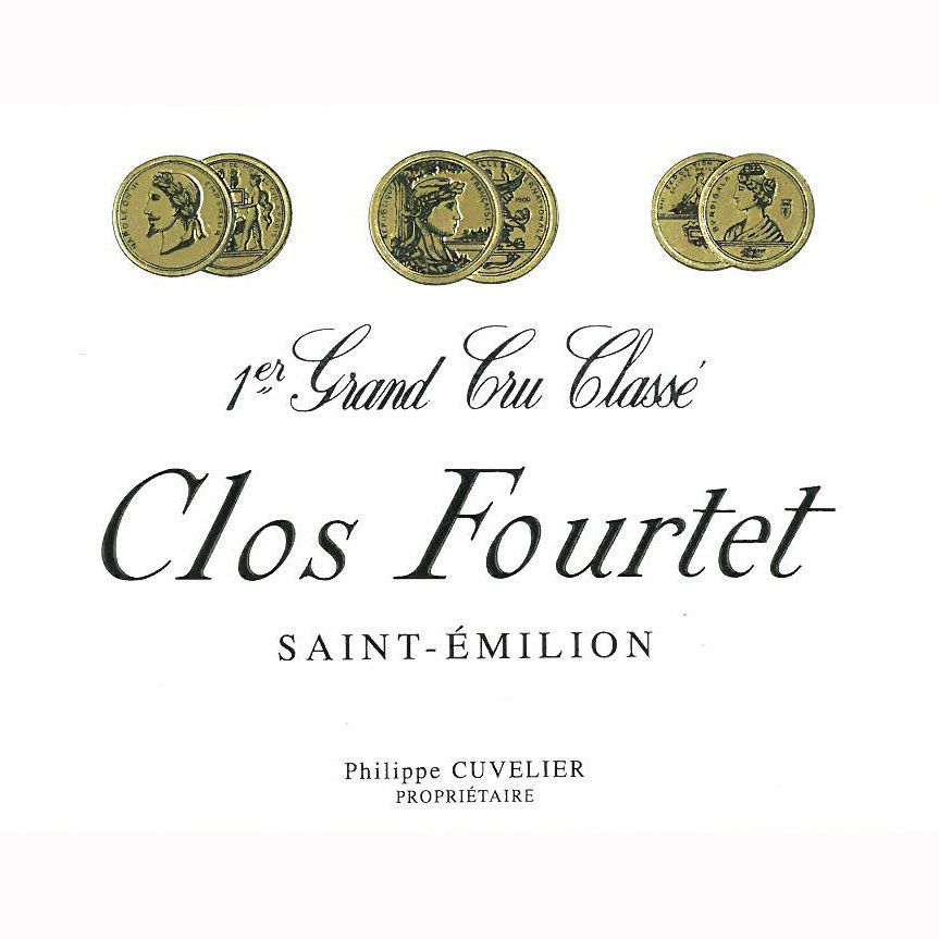 Clos Fourtet  1981 Front Label