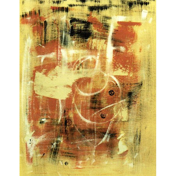 Sine Qua Non In the Abstract 2012 Front Label