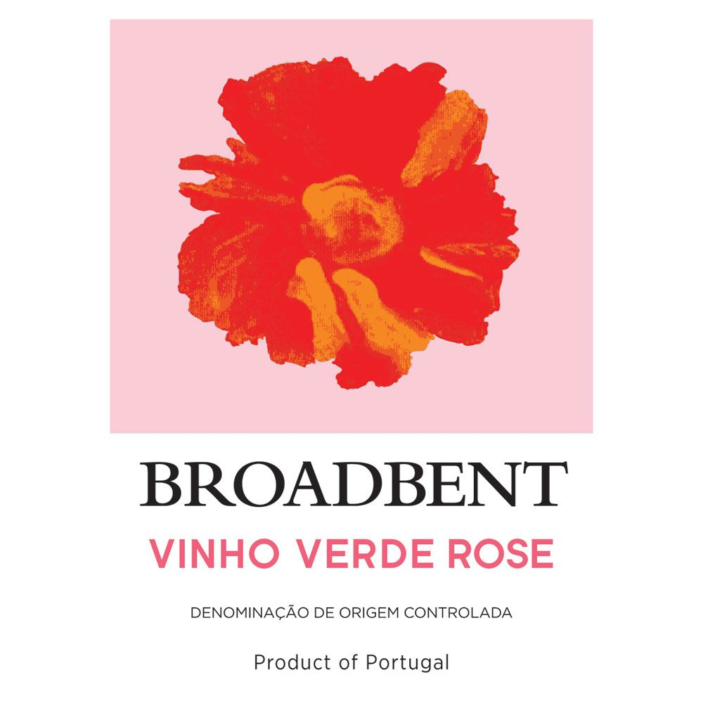 Broadbent Vinho Verde Rose Front Label