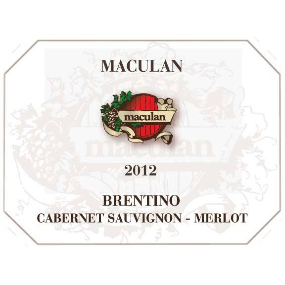 Maculan Brentino 2012 Front Label
