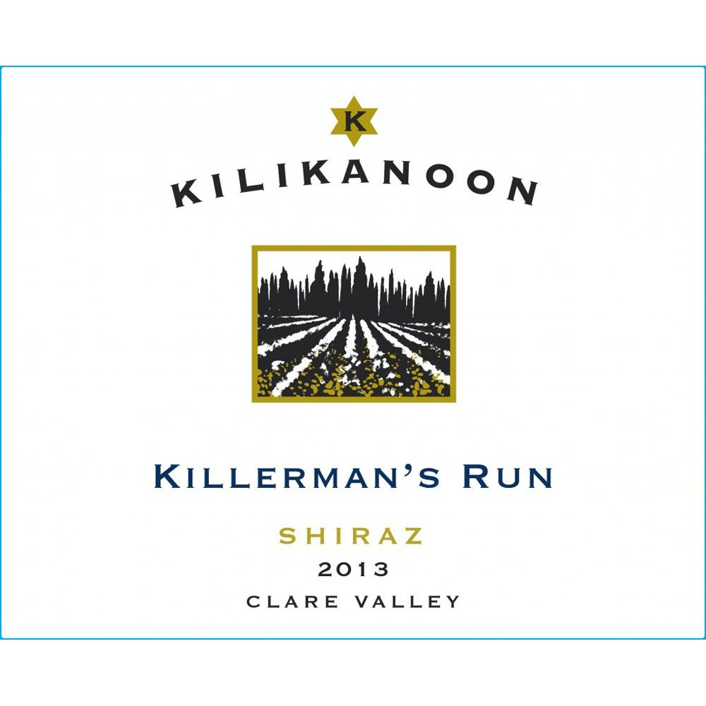Kilikanoon Killerman's Run Shiraz 2013 Front Label