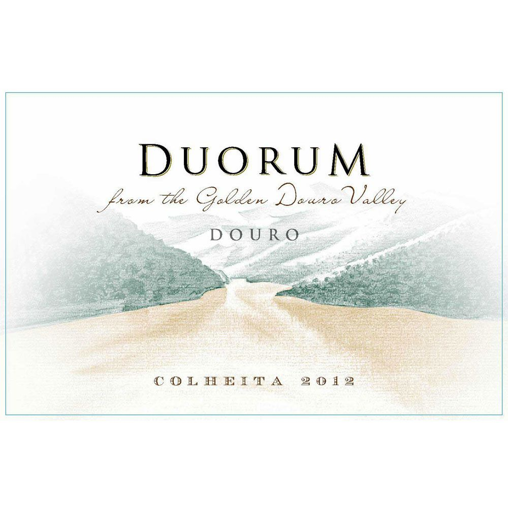 Duorum Colheita 2012 Front Label