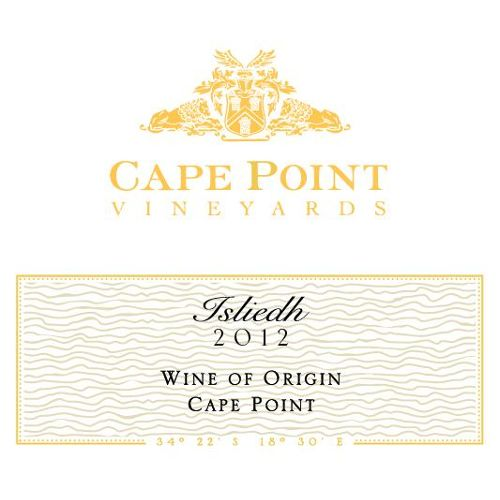 Cape Point Isliedh Sauvignon Blanc 2012 Front Label