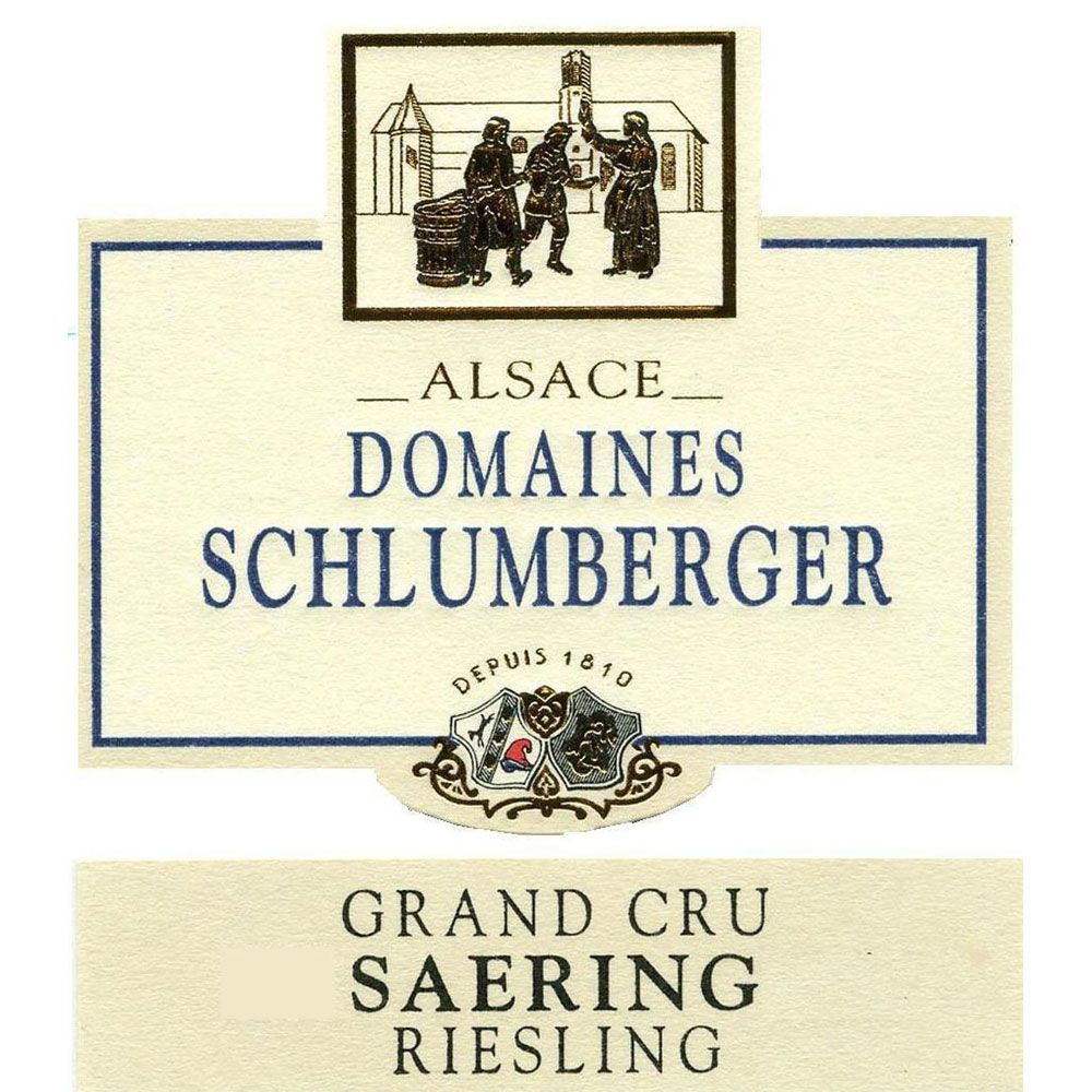 Domaines Schlumberger Grand Cru Saering Riesling 2010 Front Label