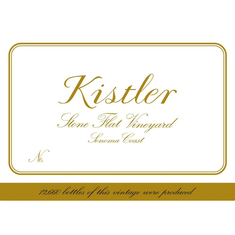 Kistler Vineyards Stone Flat Vineyard Chardonnay 2005 Front Label