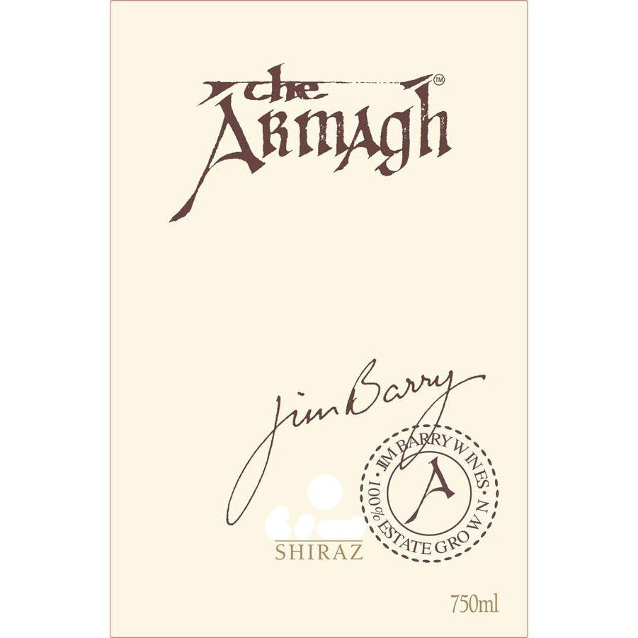 Jim Barry The Armagh Shiraz 2008 Front Label