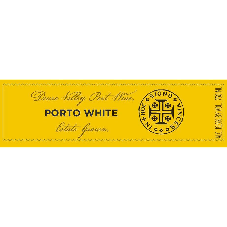 Ramos Pinto Fine White Port Front Label