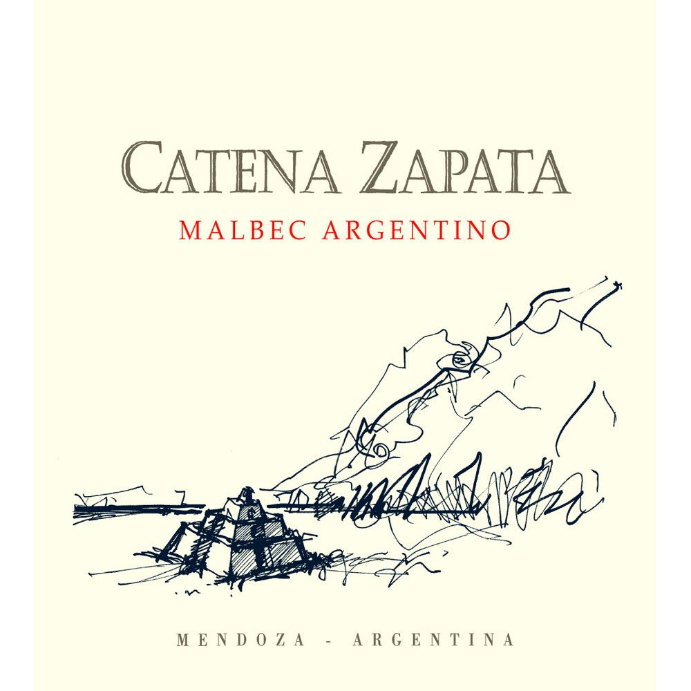 Catena Zapata Argentino Vineyard Malbec (6 Liter Bottle) 2009 Front Label