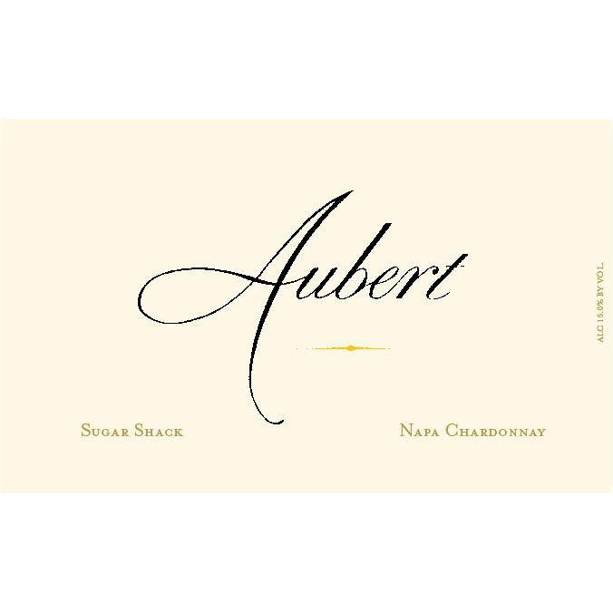Aubert Sugar Shack Estate Chardonnay 2013 Front Label