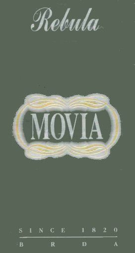 Movia Rebula 2001 Front Label