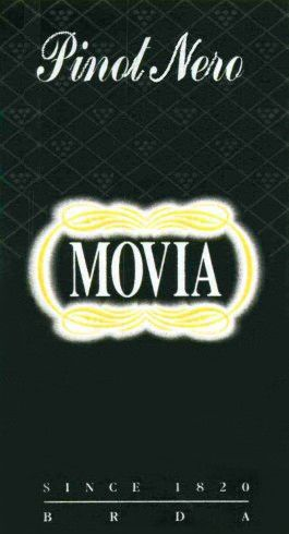 Movia Pinot Nero 2005 Front Label