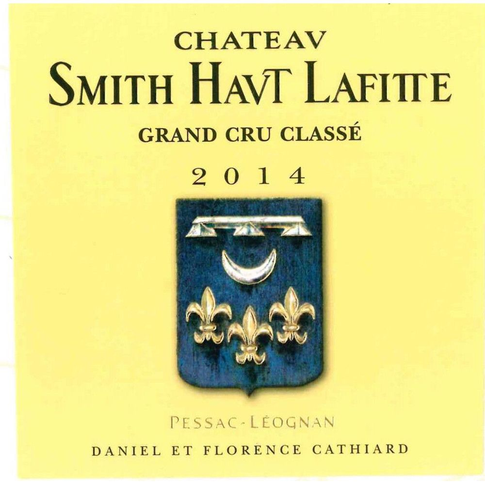 Chateau Smith Haut Lafitte  2014 Front Label