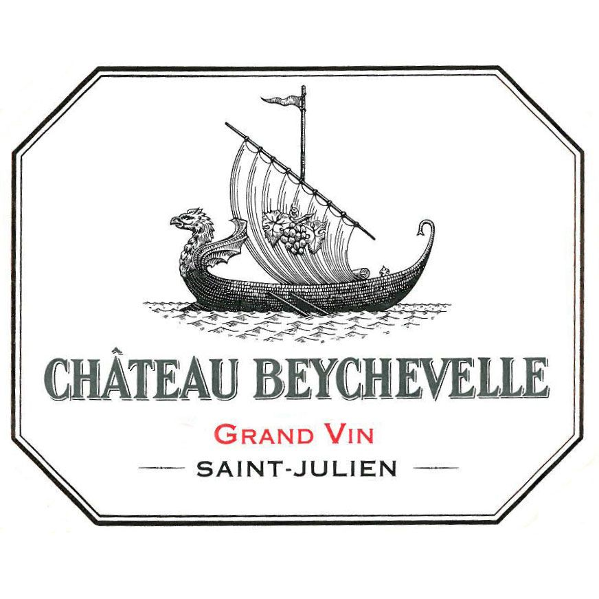 Chateau Beychevelle (slightly scuffed labels) 2014 Front Label