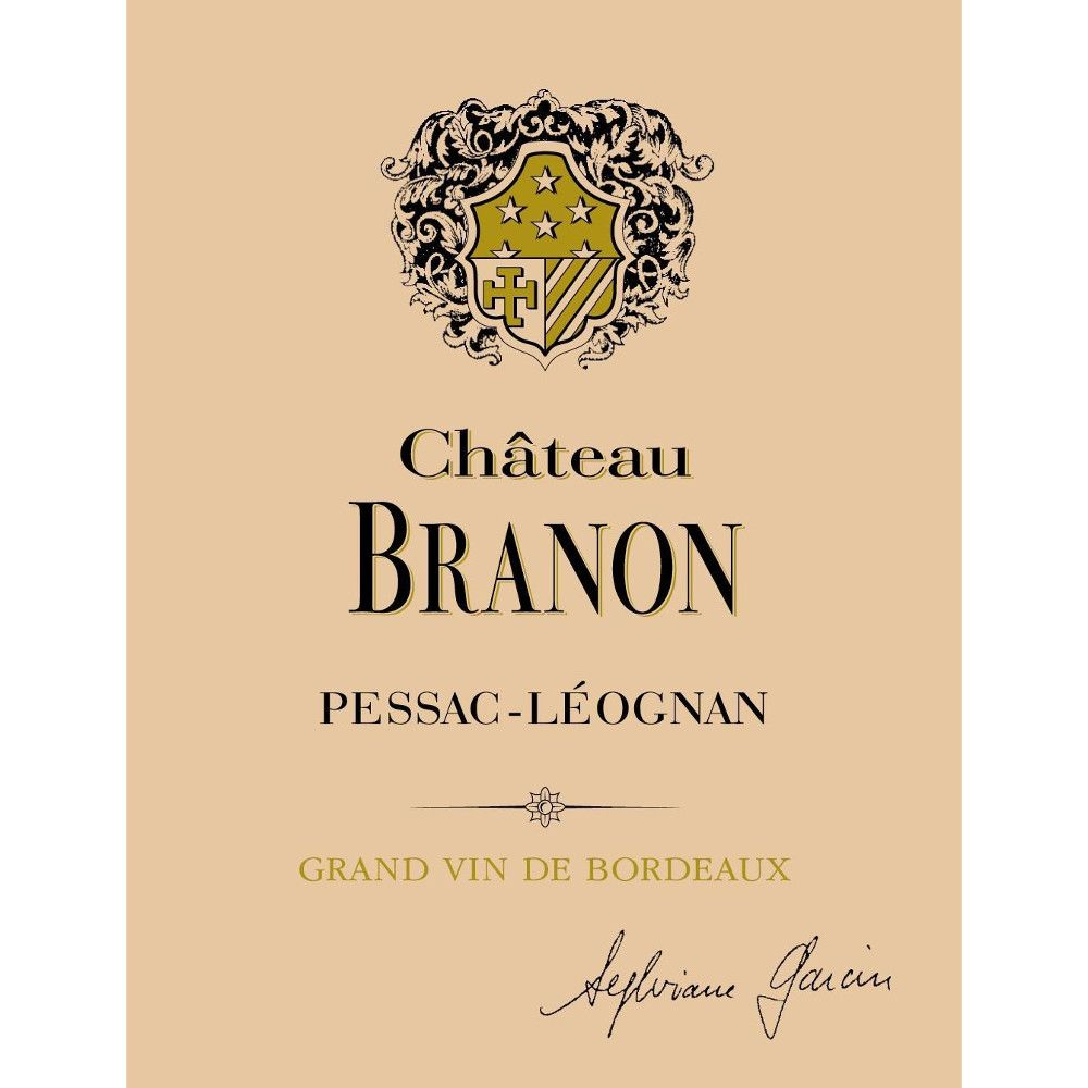 Chateau Branon (Futures Pre-Sale) 2014 Front Label