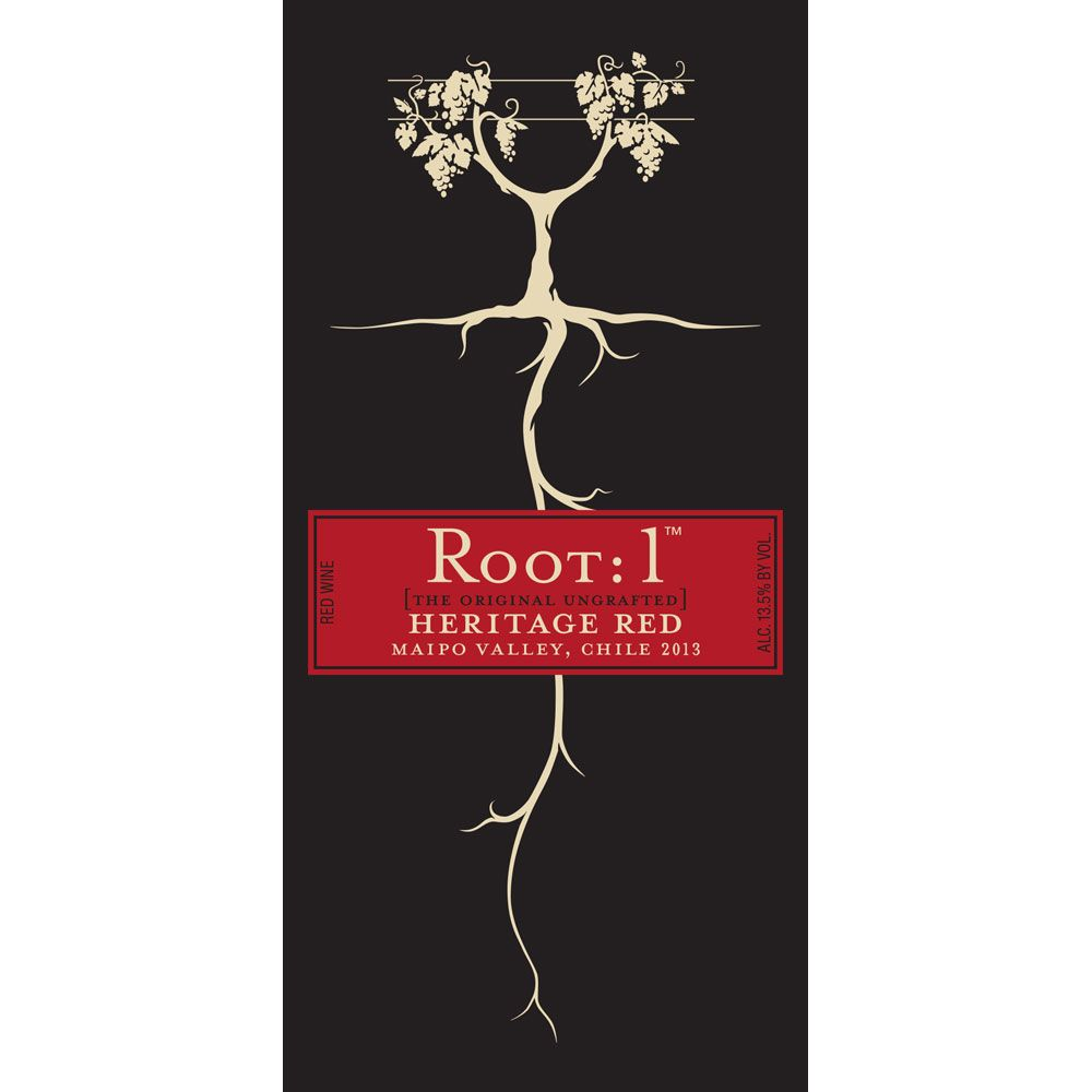 Root 1 Heritage Red Blend 2013 Front Label