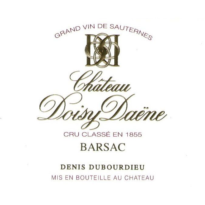 Chateau Doisy Daene (Futures Pre-Sale) 2014 Front Label