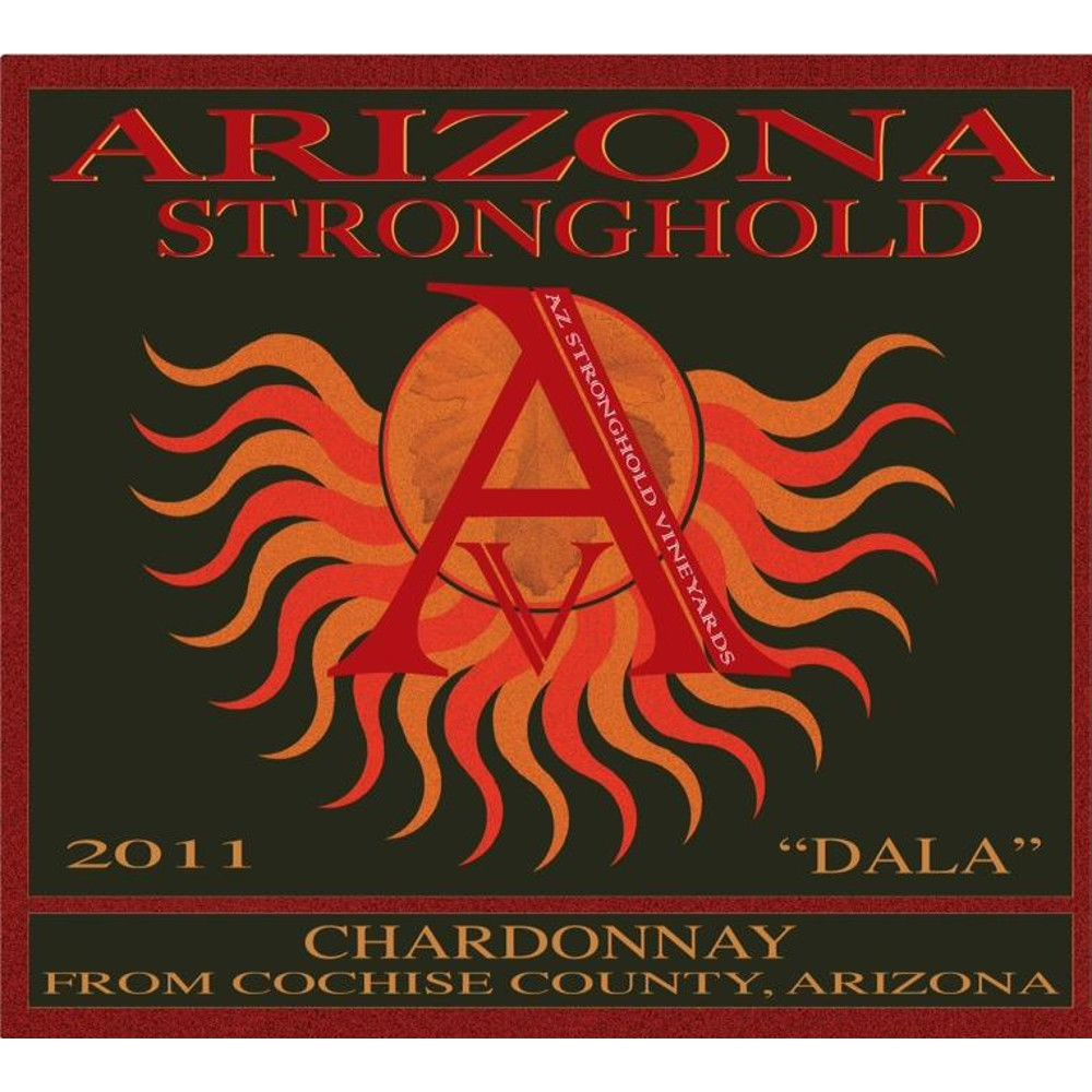 Arizona Stronghold Dala Chardonnay 2011 Front Label
