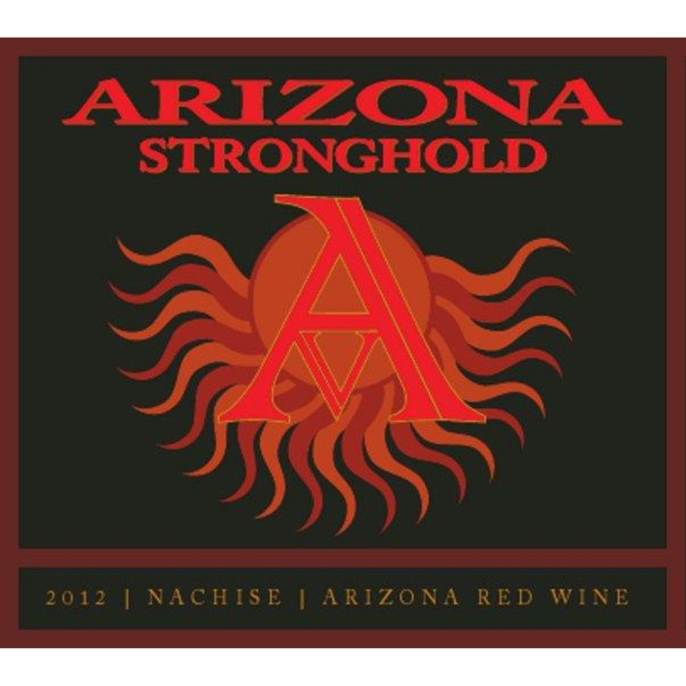 Arizona Stronghold Nachise Red 2012 Front Label