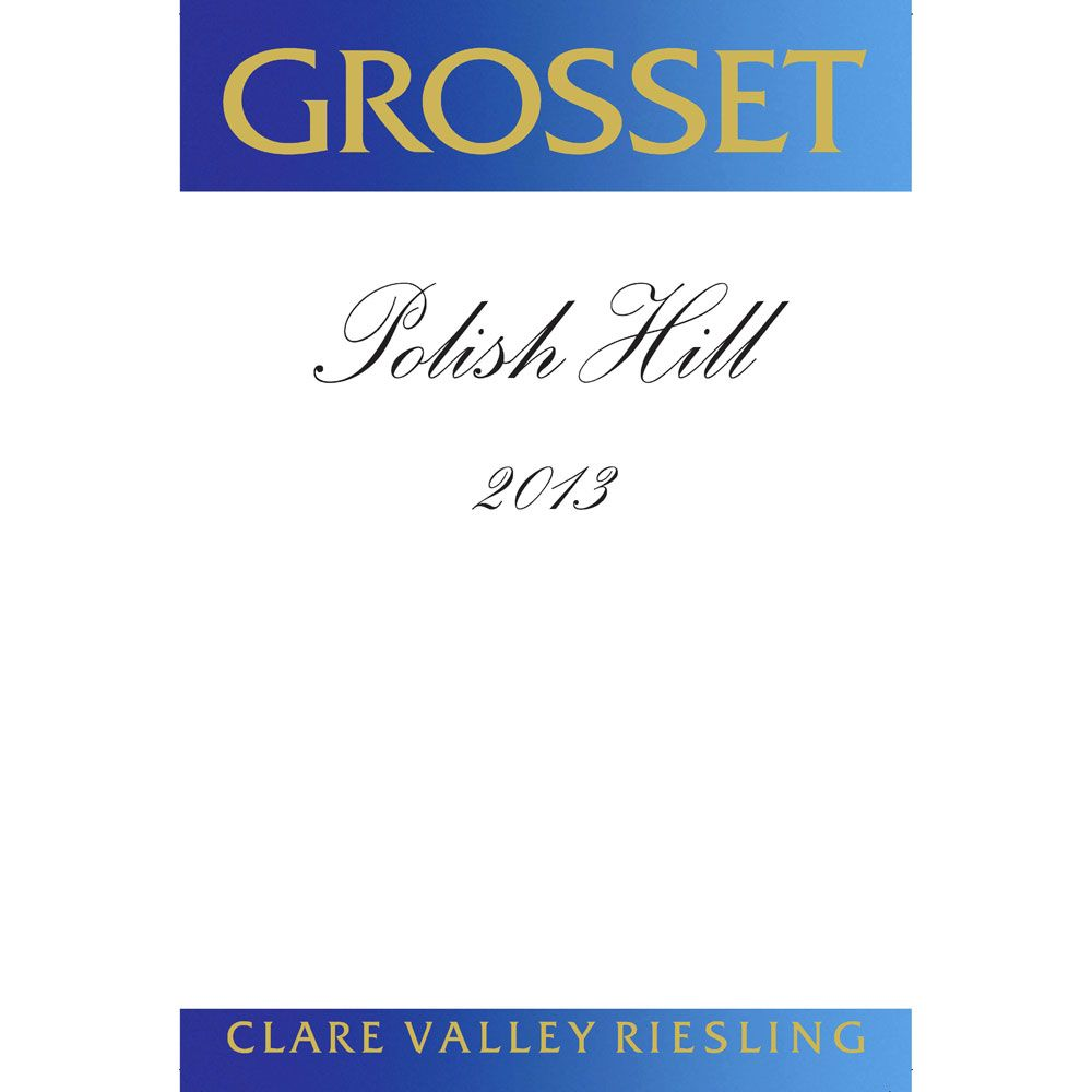 Grosset Polish Hill Riesling 2014 Front Label