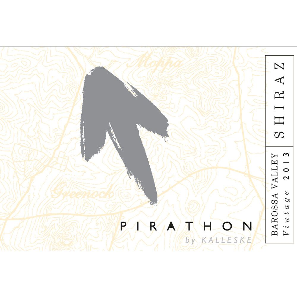 Pirathon Shiraz 2013 Front Label